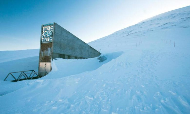 """""""خزانة يوم القيامة"""" أو قبو سفالبارد العالمي للبذور"""